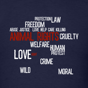 Two Brand New Animal Rights T-Shirt Designs