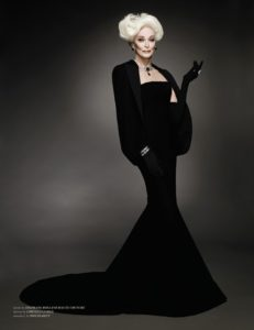 Famous Model History With Carmen Dell'Orefice