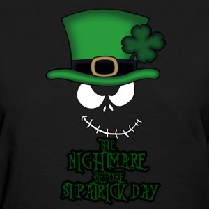 nightmare-before-stpatrick-day-women-s-t-shirt
